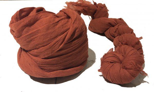 Sjaal Oranje/Roest