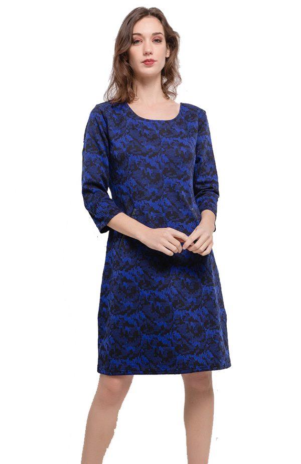 Vegas For Her jurk Marineblauw
