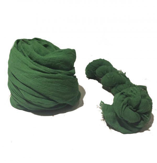 Sjaal Flessengroen