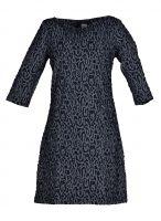 Vegas jurk Panterprint Blauw