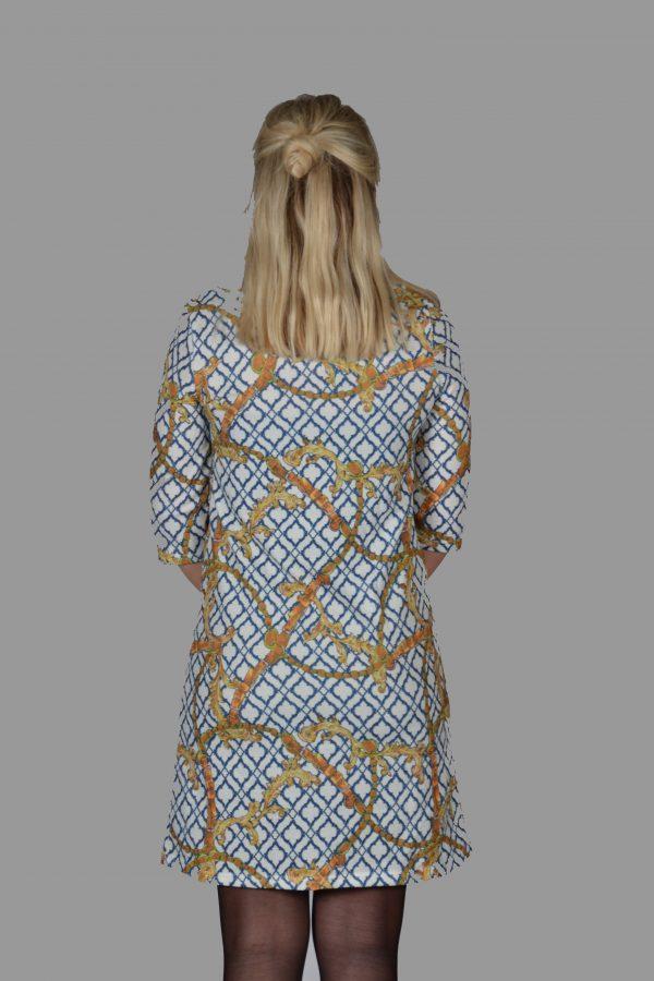 Vegas jurk Riem Goud