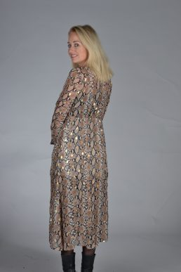 Lalive Verte lange jurk