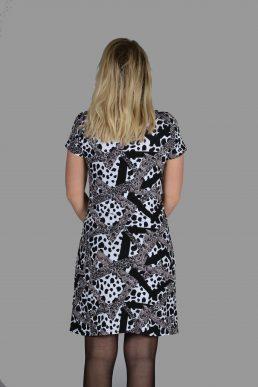 NED jurk dieren print