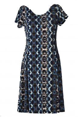 Stella Moretti jurk zigzag