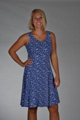 Stella Moretti jurk kobalt blauw