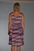 Stella Moretti jurk roze streep