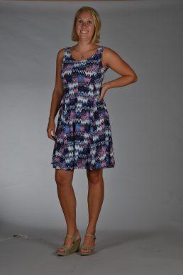 Stella Moretti jurk beat stripe
