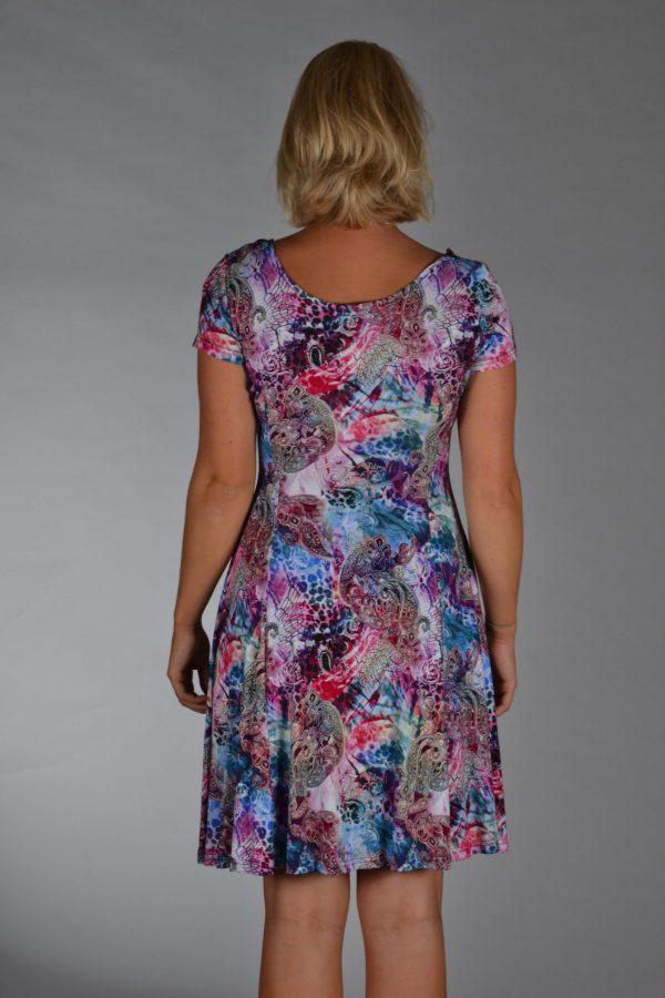 Stella Moretti jurk disco kleuren