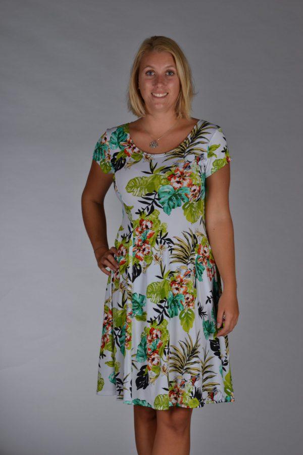 Stella Moretti jurk wit