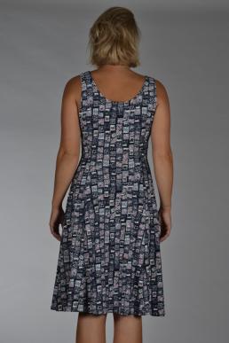 Stella Moretti jurk mini blokken