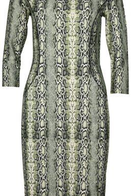Angelle Milan jurk slangenprint
