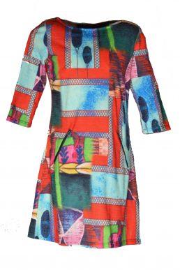 Vegas jurk Colorful colors