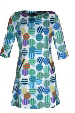 Vegas jurk Colored dots